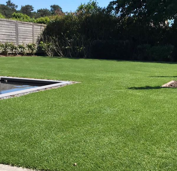 Kunstgras tuin